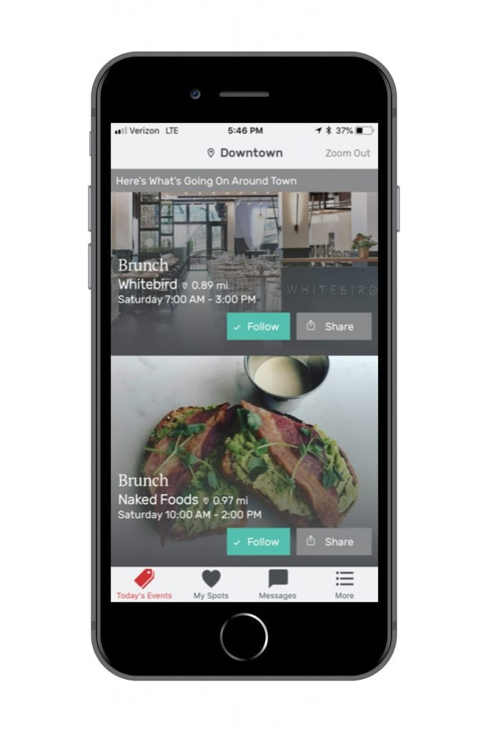 the house app interface chattanooga