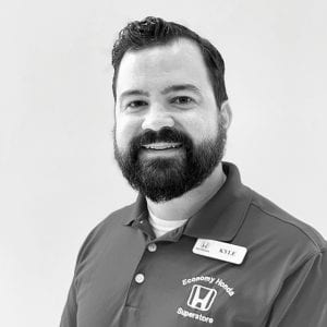 Kyle Cheatham, Sales Consultant, Economy Honda Chattanooga businessman salesperson