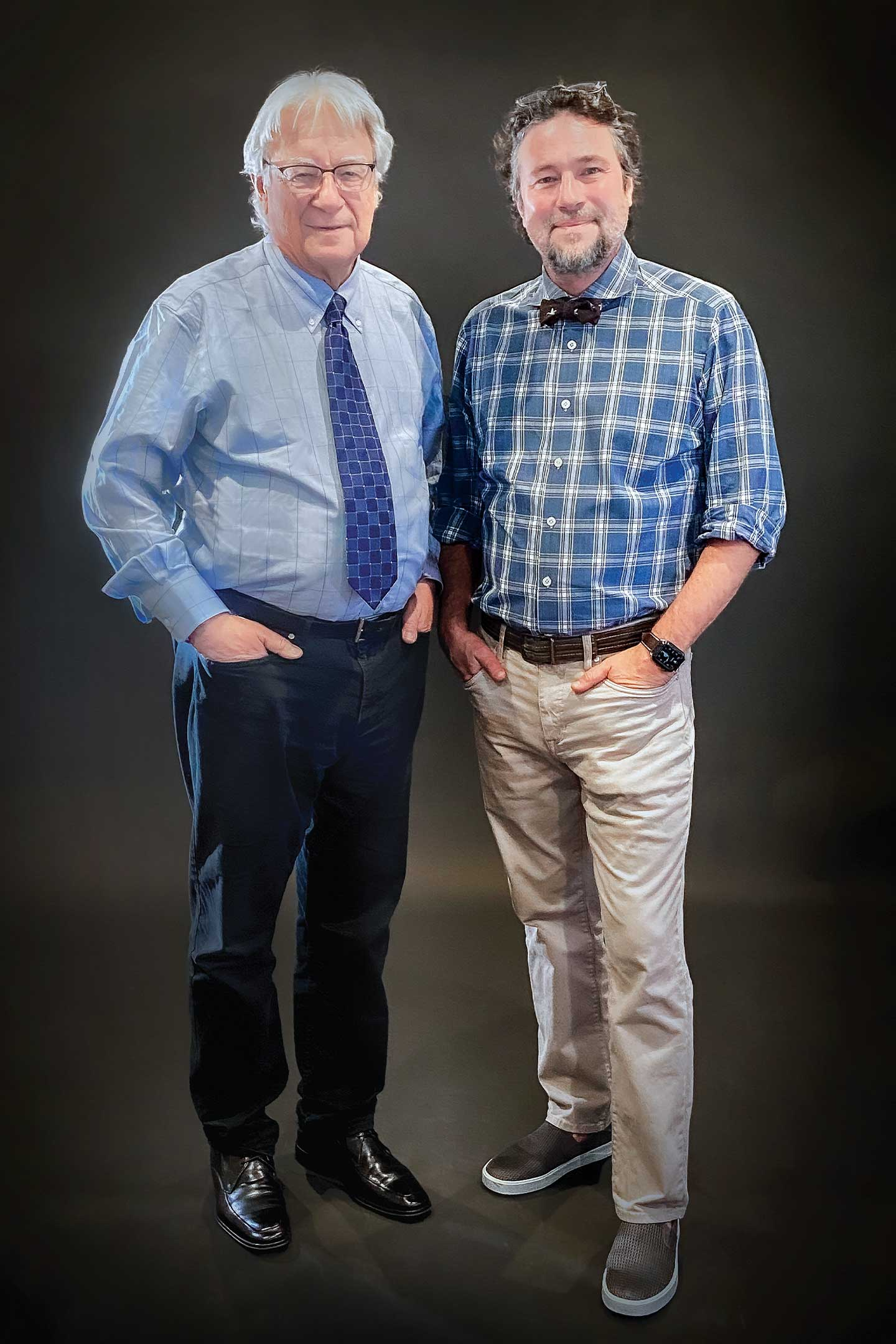 Dr. James Busch and his father Dr. Joseph Busch