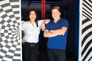 Patrick & Carolina Molloy, co-owners of Adventure Sports Innovation