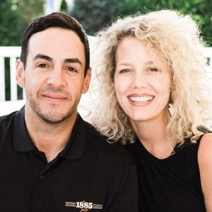 Miguel Morales, Entrepreneur, Co-Owner, 1885 Grill, Tremont Tavern, FEED co. Table & Tavern, Parkway Pourhouse and his wife