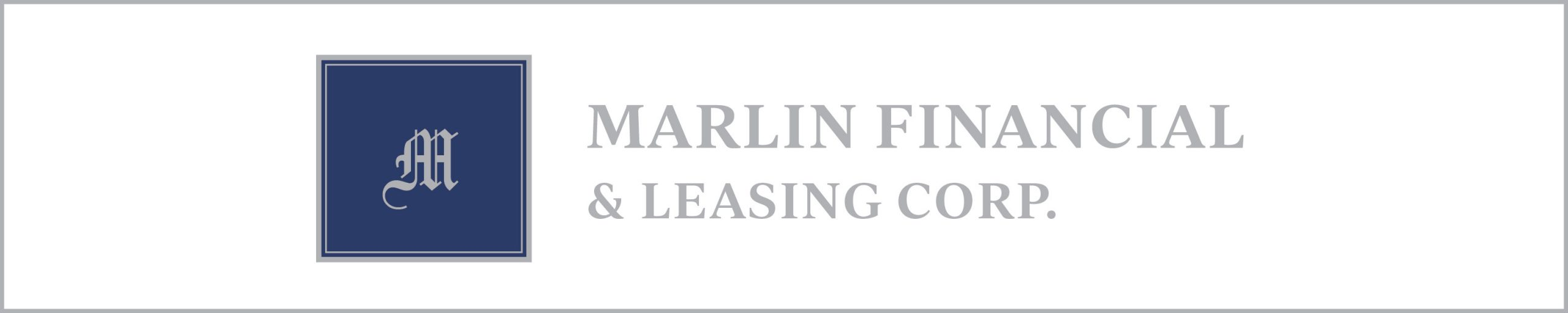 Marlin Financial & Leasing Corp. Ad