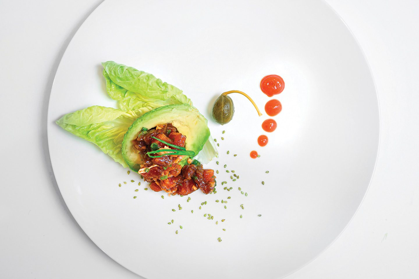 Avocado and Tuna Tartare