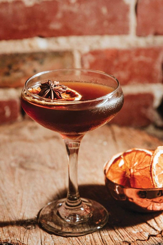 Java the Nut cocktail from Chattanooga Whiskey