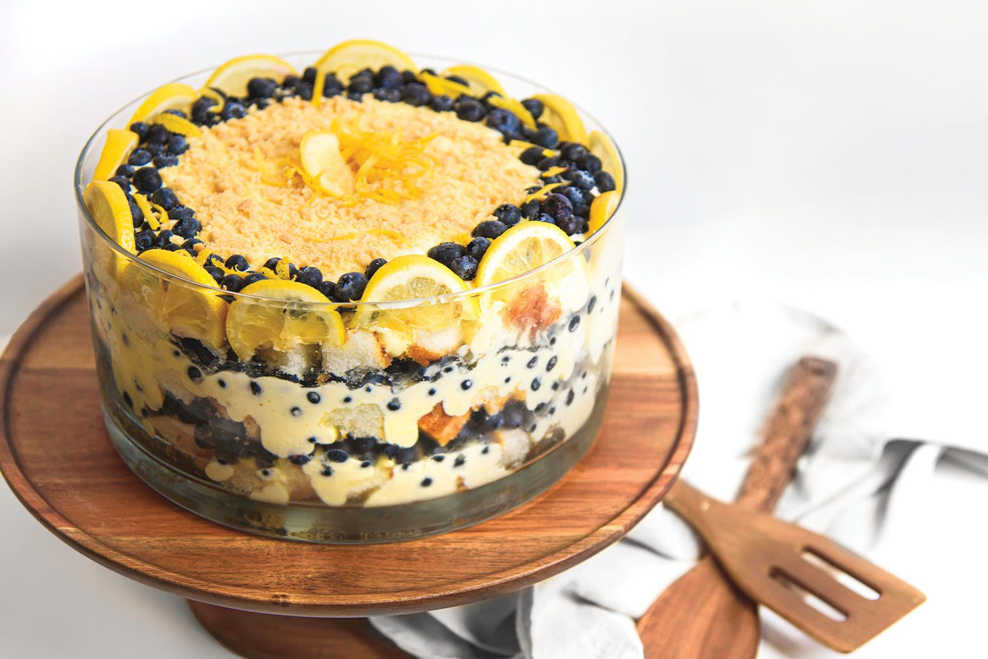 Aline Schrage's Lemon Blueberry Trifle