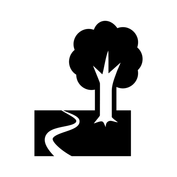 tree and path icon