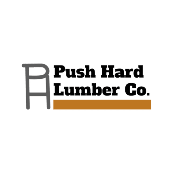 Push Hard Lumber Co. Logo