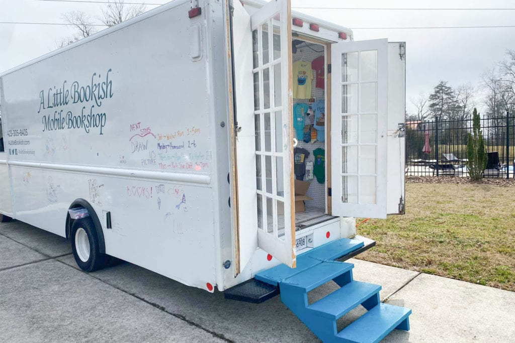 A Little Bookish Bookmobile