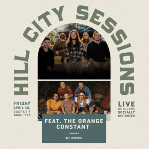 Hill City Sessions Graphic