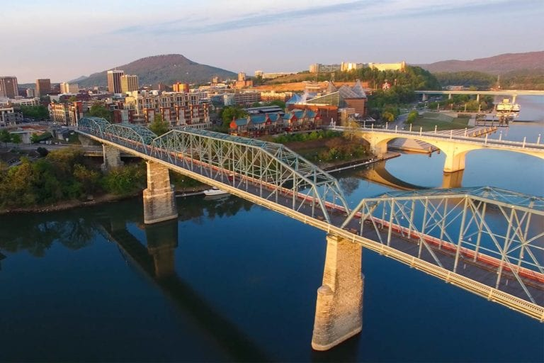 Chattanooga on the Tennessee River