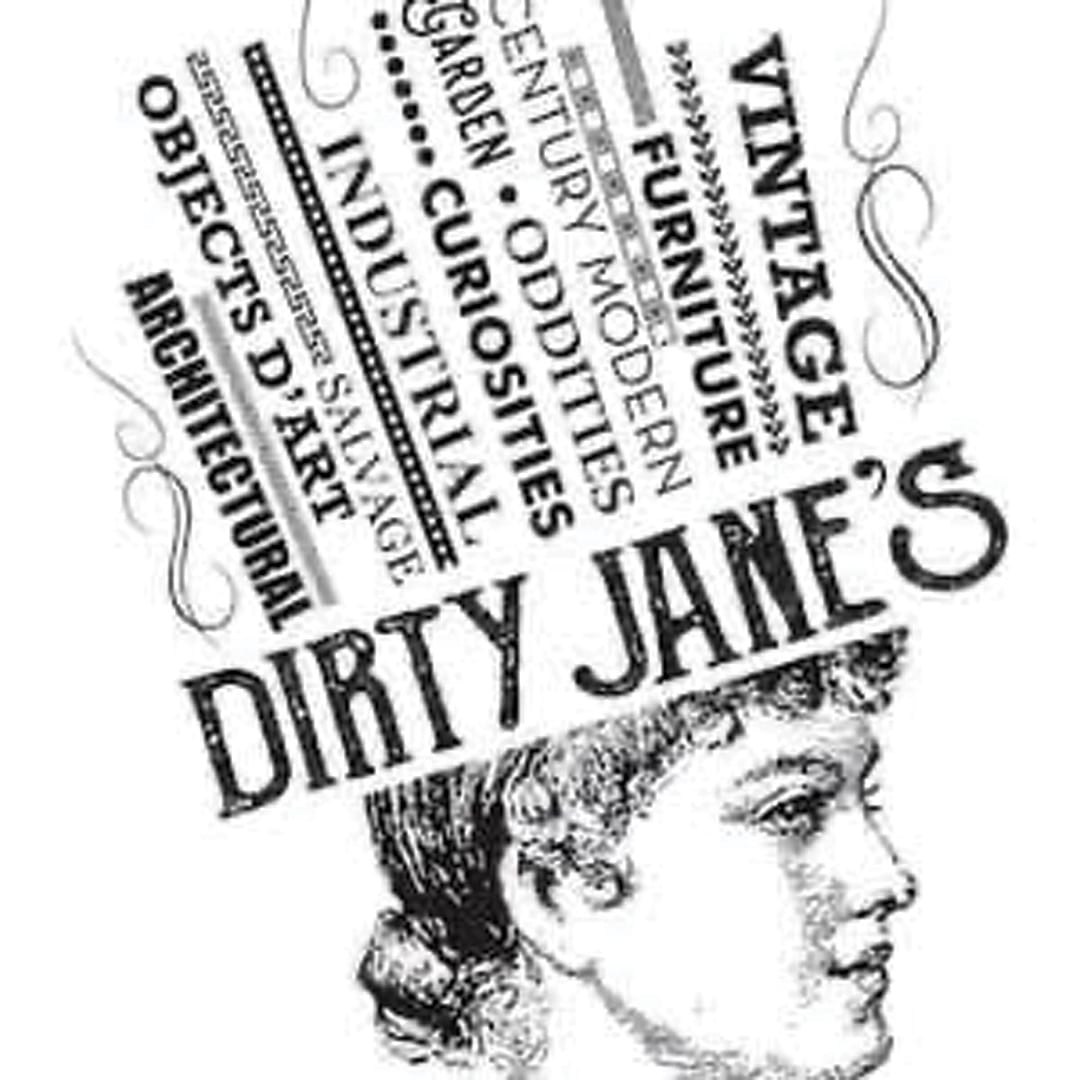 Dirty Jane's Antiques Logo