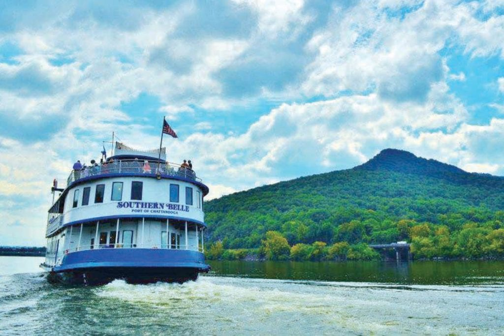 Southern Belle Riverboat on the TN River