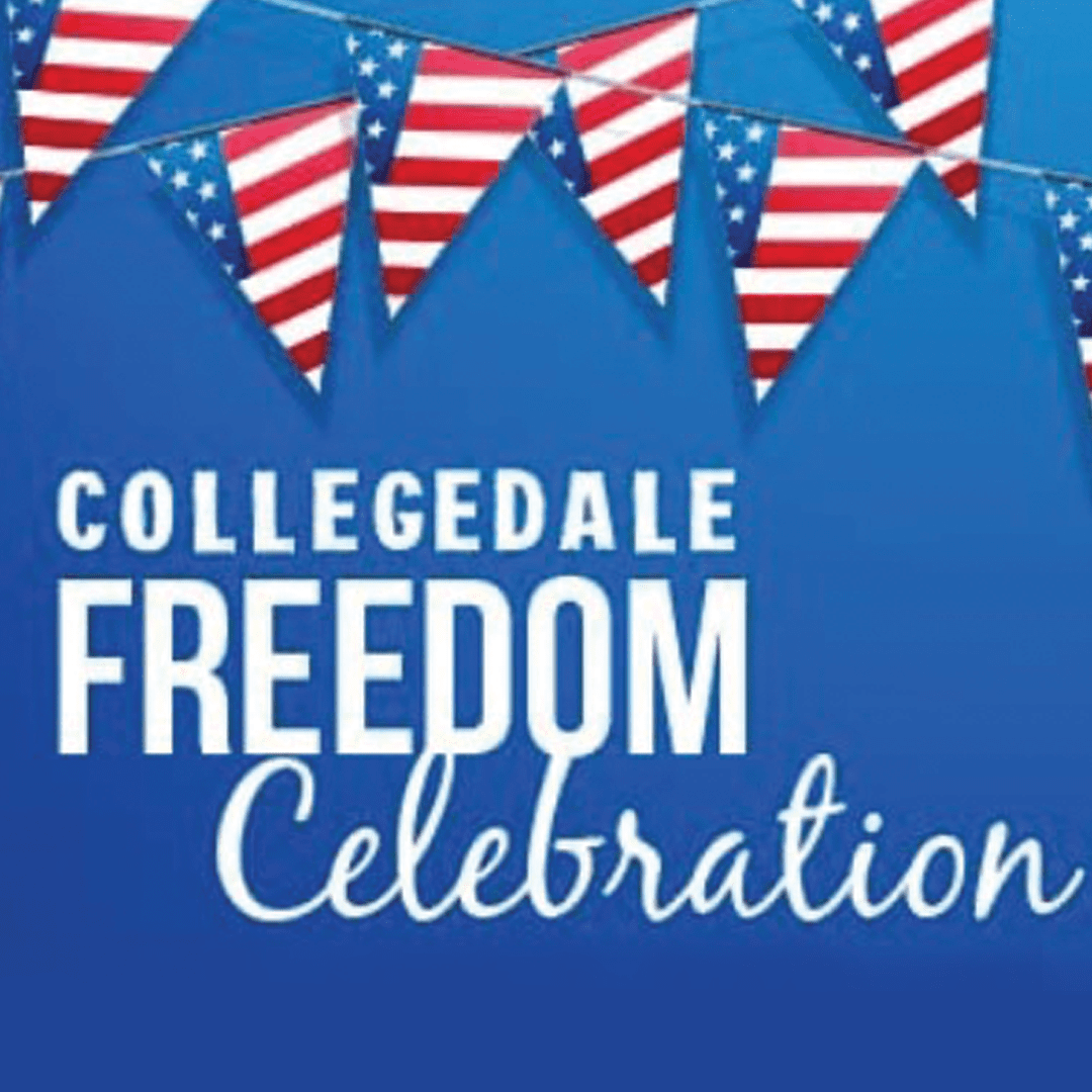 Collegedale Freedom Celebration Graphic