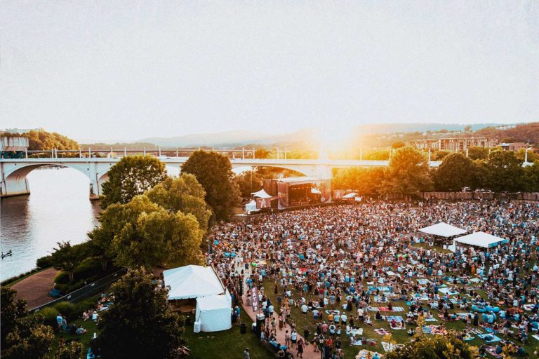 Moon River Festival at Coolidge Park in Chattanooga