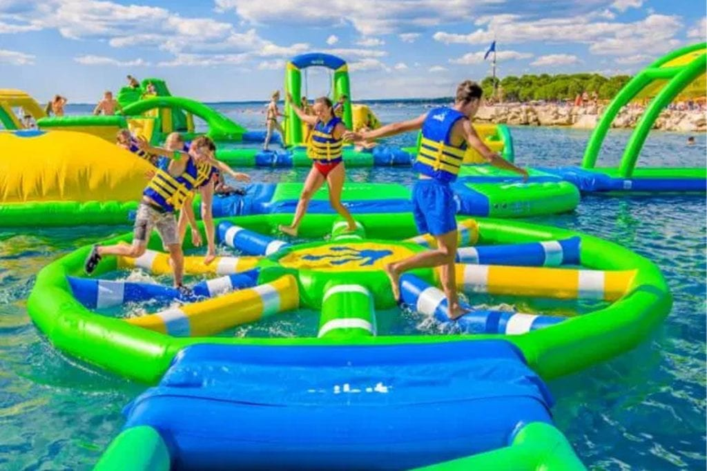 The Target obstacle at Nooga Splash in Chattanooga