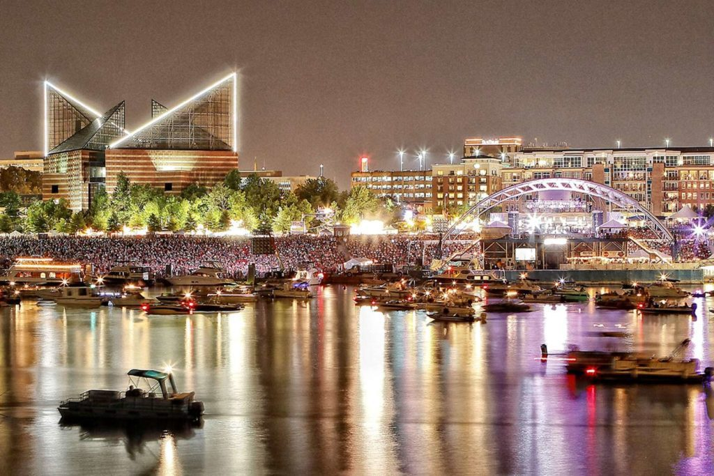 Riverbend Music Festival in Chattanooga