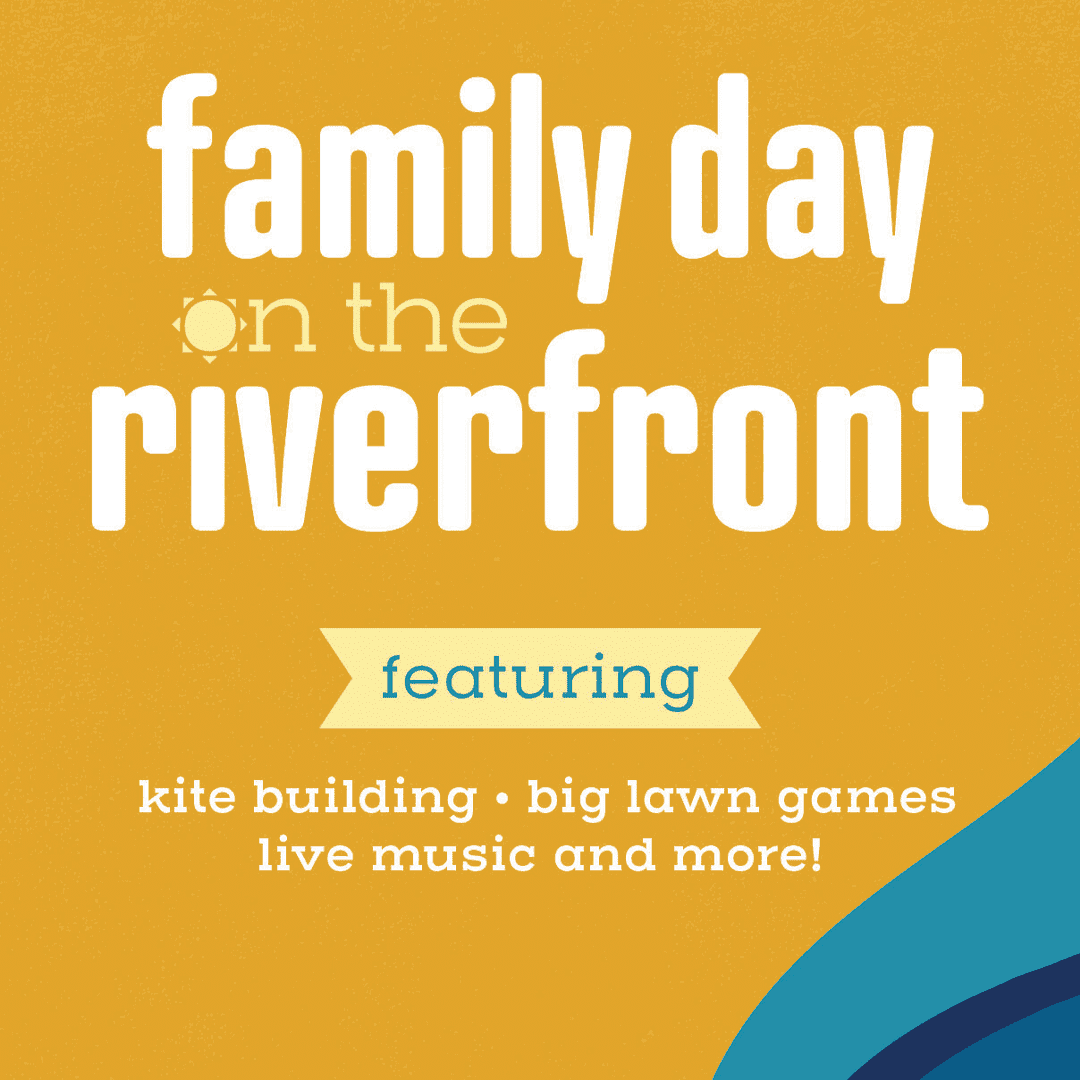 Family Day on the Riverfront Graphic