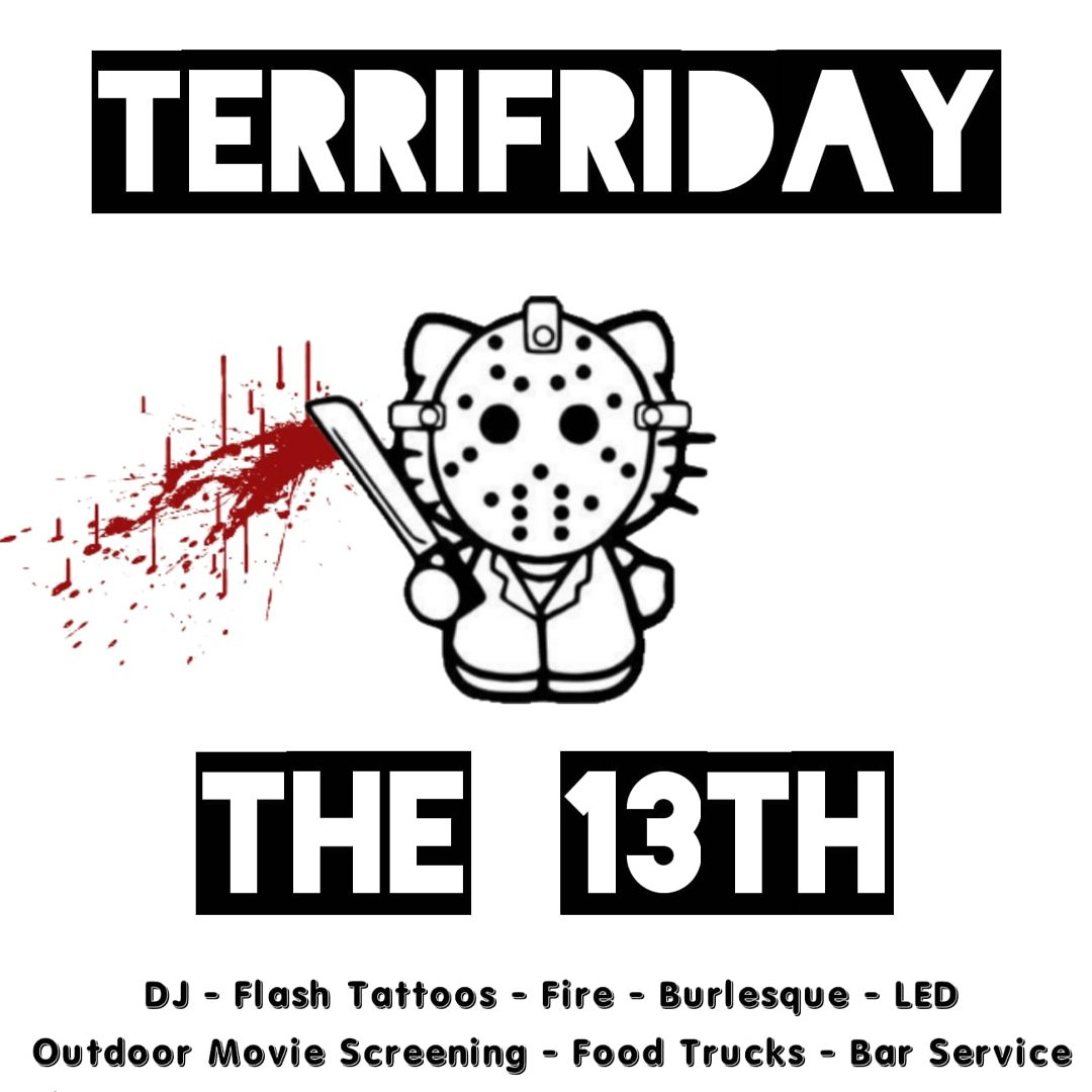 TerriFriday the 13th Graphic