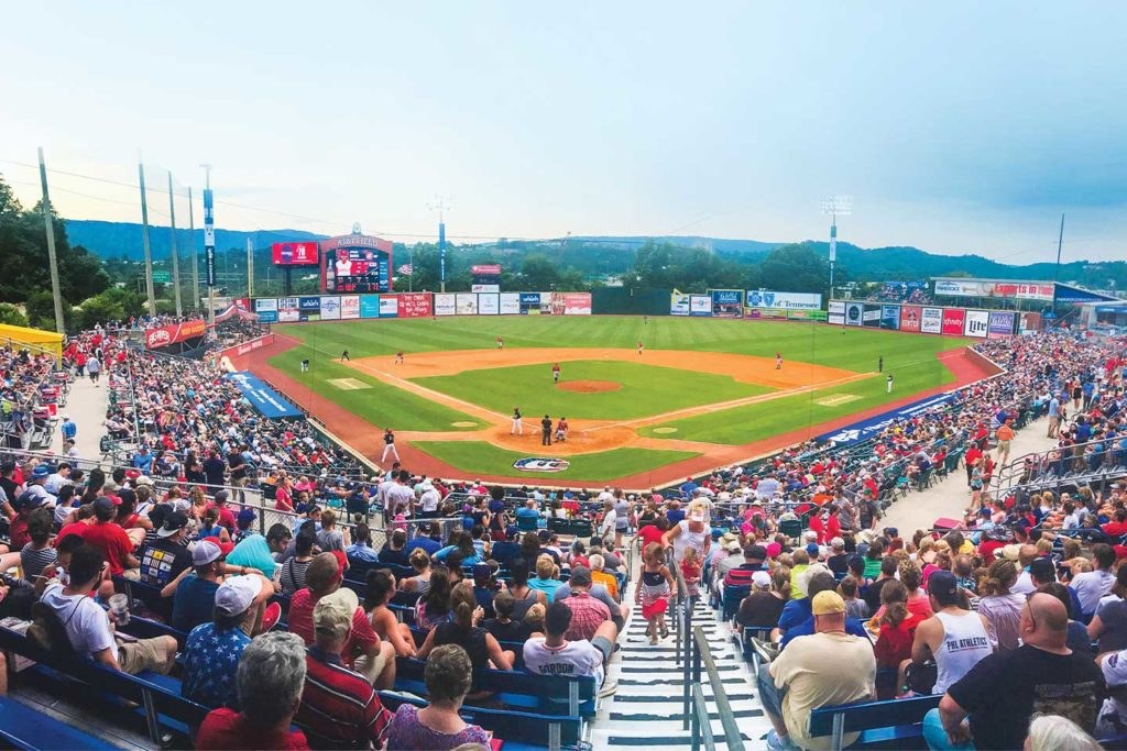 Chattanooga Lookouts Home Game